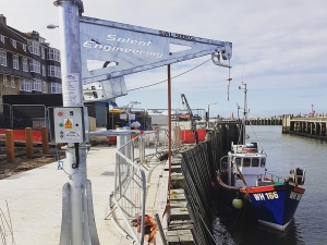 Solent Engineering Services Quayside Davits